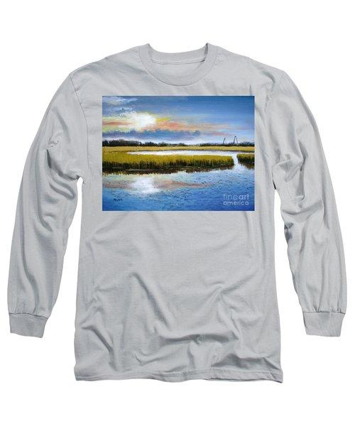 Shem Creek Sky Long Sleeve T-Shirt