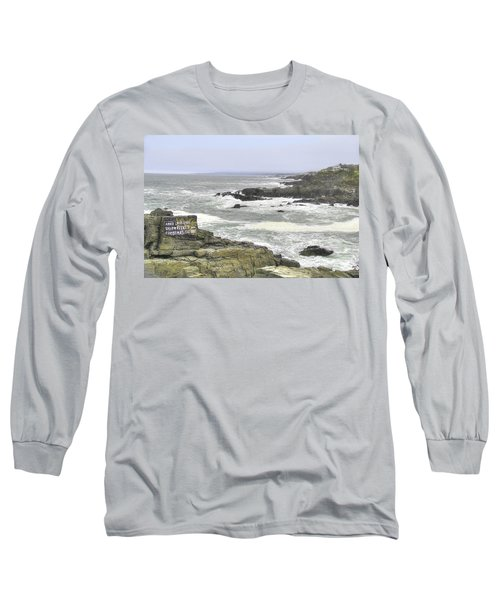 Long Sleeve T-Shirt featuring the digital art Shipwrecked by Sharon Batdorf