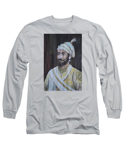 Shivaji Maharaj Long Sleeve T-Shirt