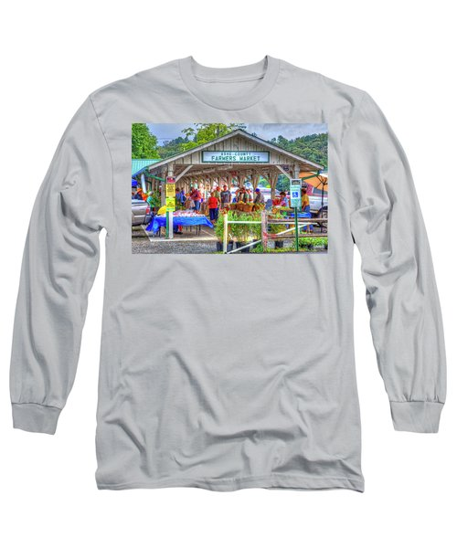 Shop Local Long Sleeve T-Shirt by Dale R Carlson