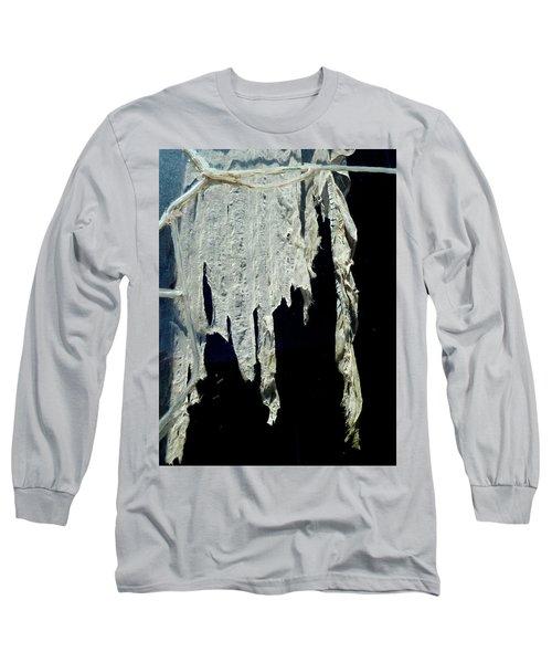 Shredded Curtains Long Sleeve T-Shirt