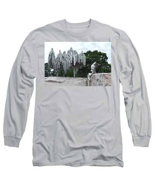 Sibelius Monument Long Sleeve T-Shirt
