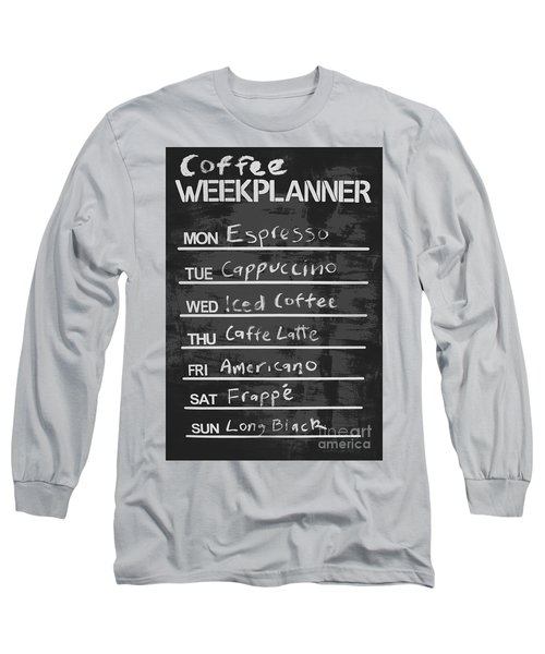 Sign Of A Coffee Lover Long Sleeve T-Shirt