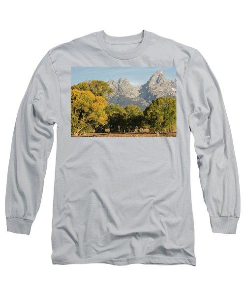 Long Sleeve T-Shirt featuring the photograph Signs Of Autum by Colleen Coccia