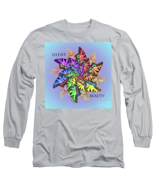 Silent Beauty Long Sleeve T-Shirt