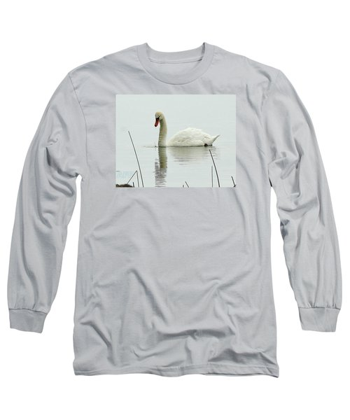 Long Sleeve T-Shirt featuring the photograph Silent Water by Al Fritz