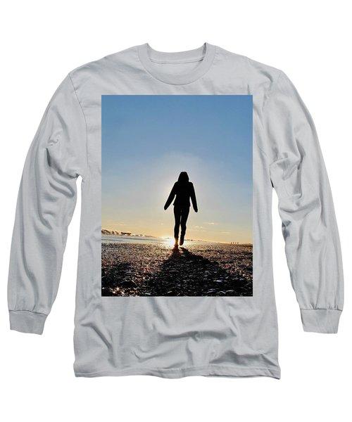 Sillhouette At Sea Long Sleeve T-Shirt