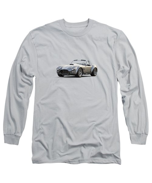 Silver Ac Cobra Long Sleeve T-Shirt