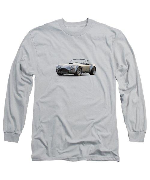 Silver Ac Cobra Long Sleeve T-Shirt