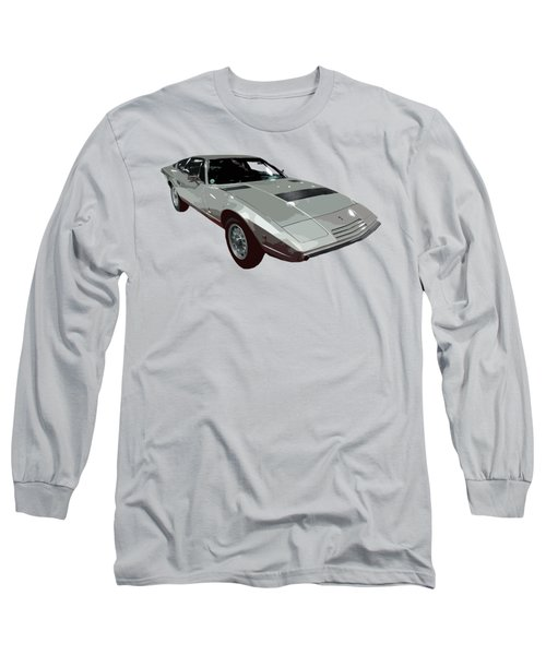 Silver Classic Sport Art Long Sleeve T-Shirt