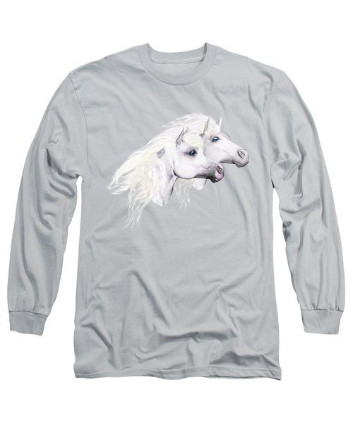 Silver Manes Long Sleeve T-Shirt