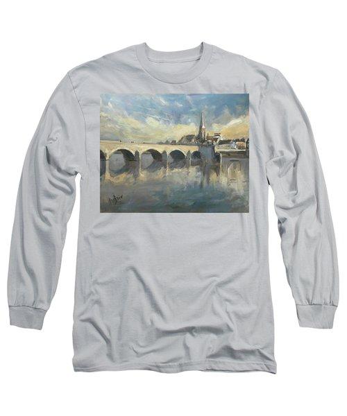Sint Servaas Bridge Maastricht Long Sleeve T-Shirt