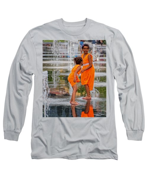 Sisters In The Waterpark Long Sleeve T-Shirt
