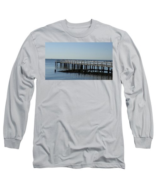Sittin' On The Dock By The Bay Long Sleeve T-Shirt