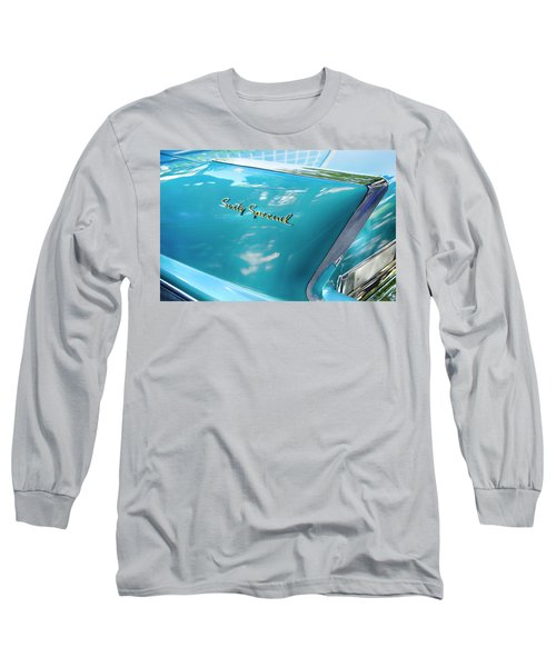 Long Sleeve T-Shirt featuring the photograph Sixty Special Cadillac by Theresa Tahara