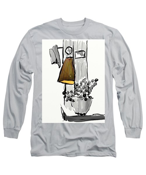 Sketch Of Interior Long Sleeve T-Shirt