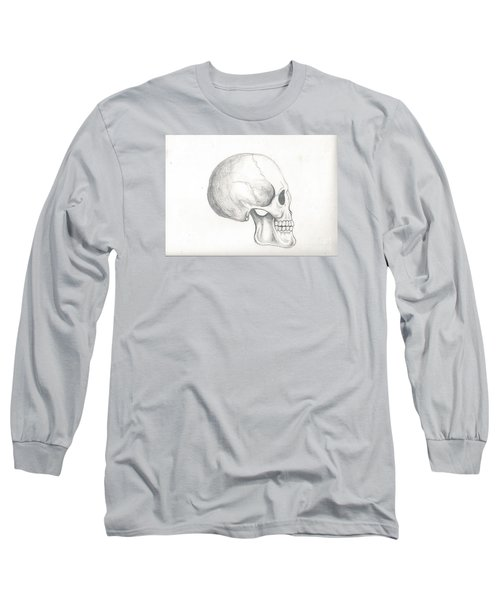 Skull Study Long Sleeve T-Shirt