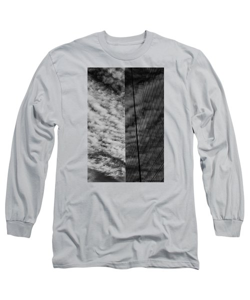 Long Sleeve T-Shirt featuring the photograph Sky Show by Lora Lee Chapman