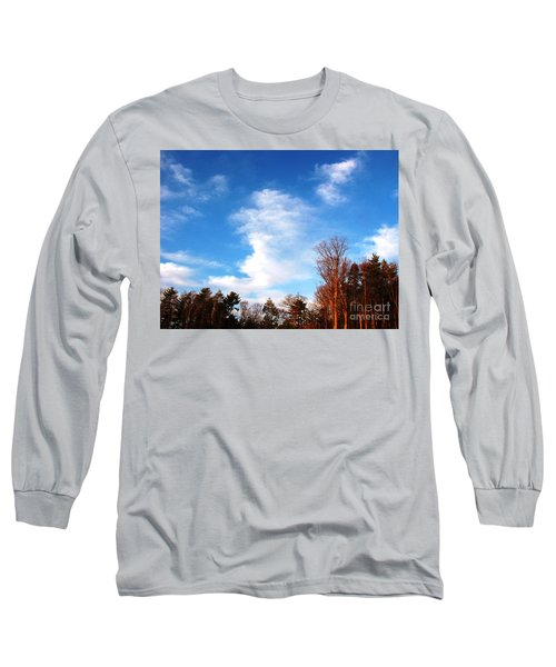 Long Sleeve T-Shirt featuring the photograph Sky Study 1 3/11/16 by Melissa Stoudt