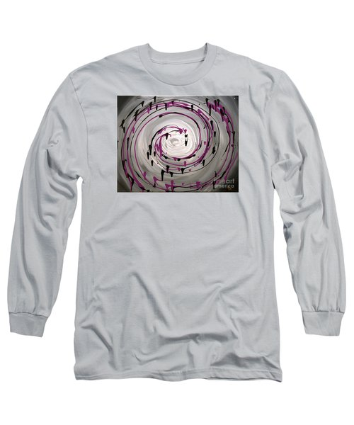 Sky Swirl Long Sleeve T-Shirt