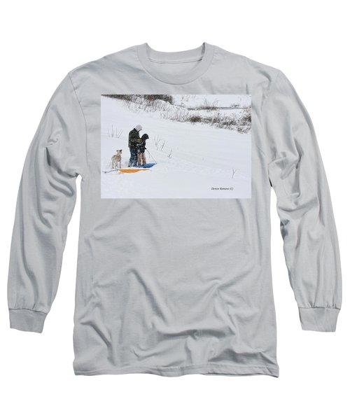 Sledding Long Sleeve T-Shirt