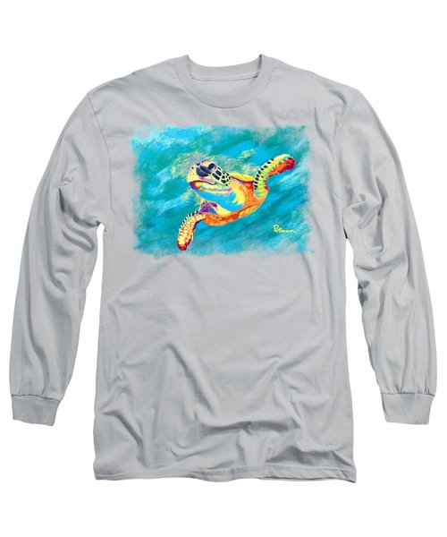 Slow Ride Long Sleeve T-Shirt by Kevin Putman