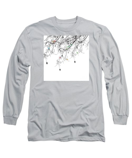 Small Talk Long Sleeve T-Shirt by Trilby Cole
