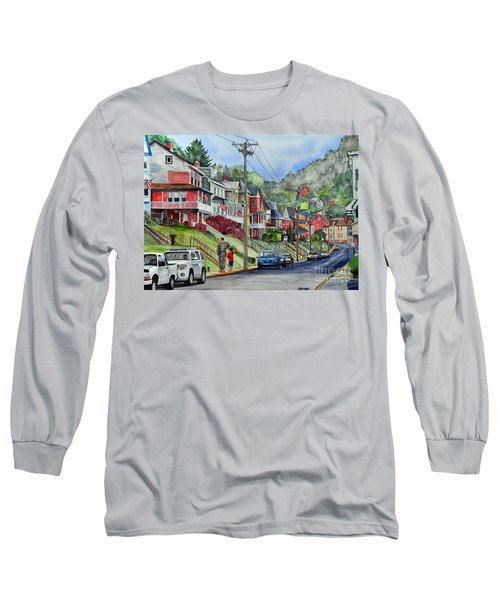 Small Town, America Long Sleeve T-Shirt