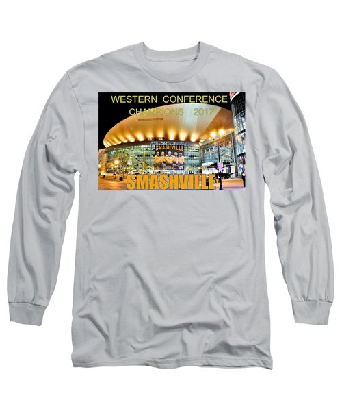 Smashville Western Conference Champions 2017 Long Sleeve T-Shirt