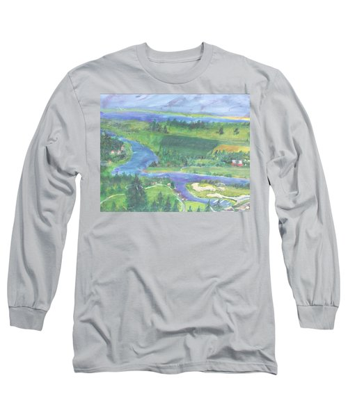 Smoke On Flat Head  Long Sleeve T-Shirt