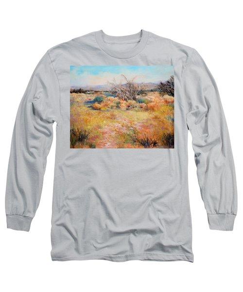 Smokey Day Long Sleeve T-Shirt by M Diane Bonaparte