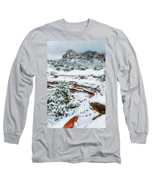 Snow 09-037 Long Sleeve T-Shirt by Scott McAllister