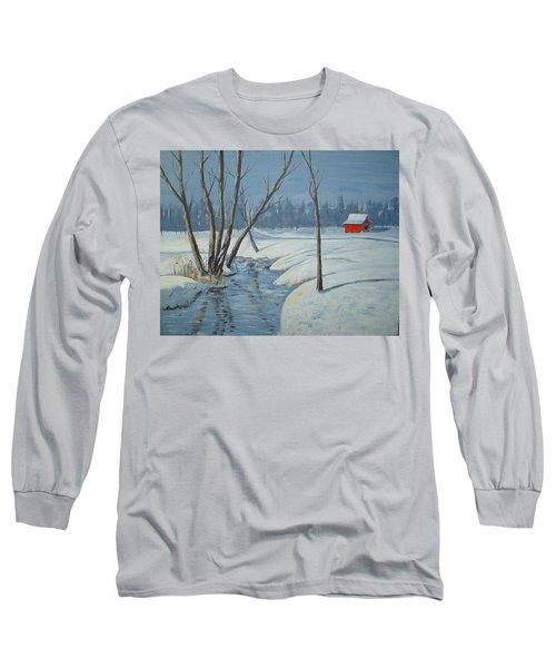 Snow Barn Long Sleeve T-Shirt