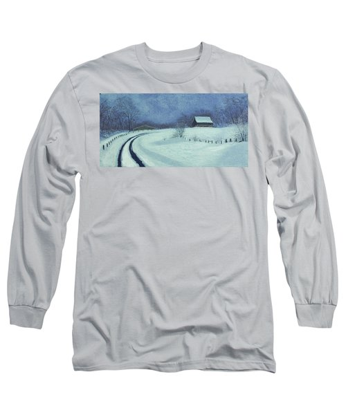 Snow Bound Long Sleeve T-Shirt by Garry McMichael