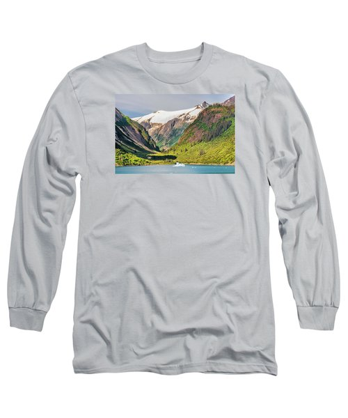 Snow Capped Long Sleeve T-Shirt by Lewis Mann