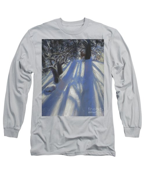 Snow Shadows Long Sleeve T-Shirt