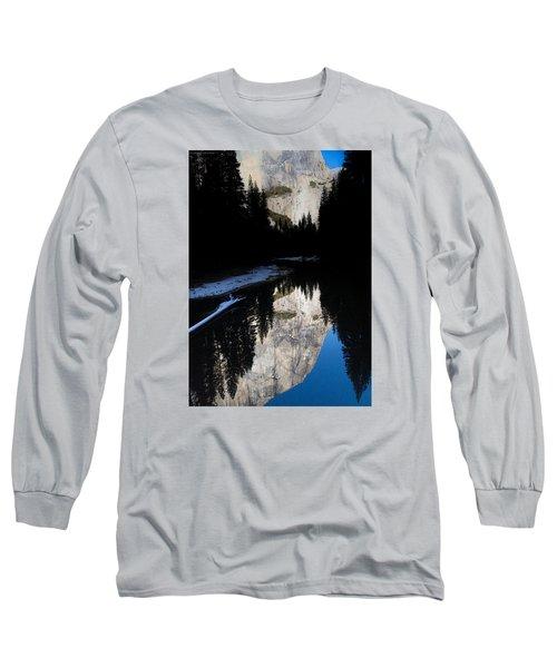 Snow Sneaks In Long Sleeve T-Shirt
