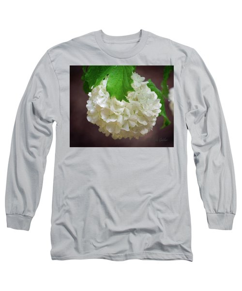 Snowball Bloom Long Sleeve T-Shirt