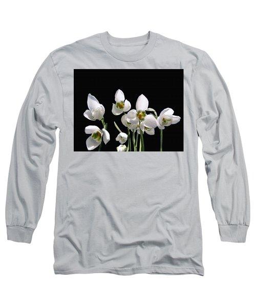 Snowdrop Flowers Long Sleeve T-Shirt