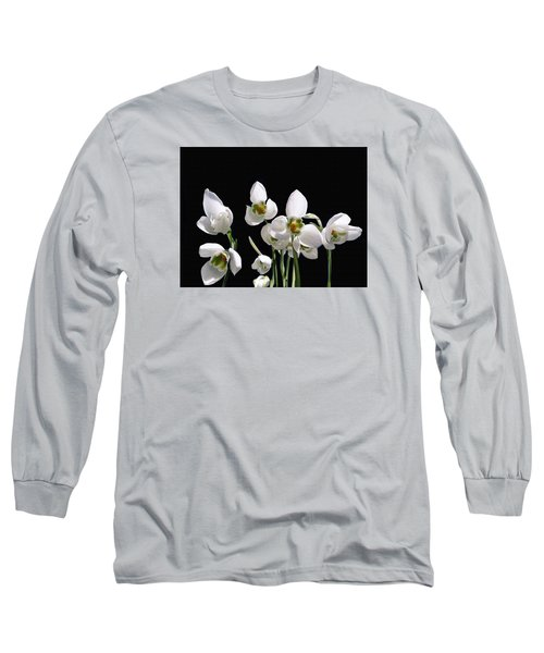 Snowdrop Flowers Long Sleeve T-Shirt