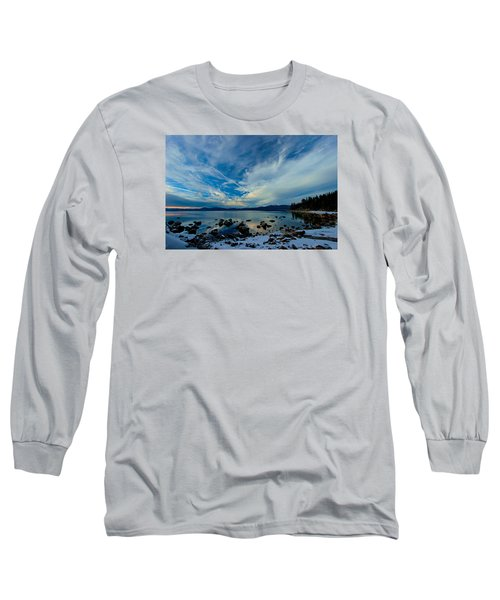 Snowgasm Long Sleeve T-Shirt by Sean Sarsfield