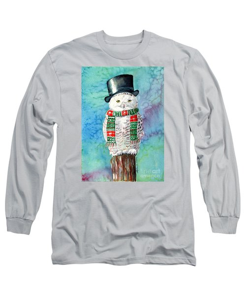 Snowman Owl Long Sleeve T-Shirt