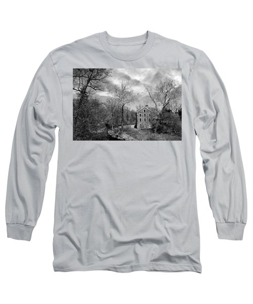 Long Sleeve T-Shirt featuring the photograph Snuff by Diana Angstadt