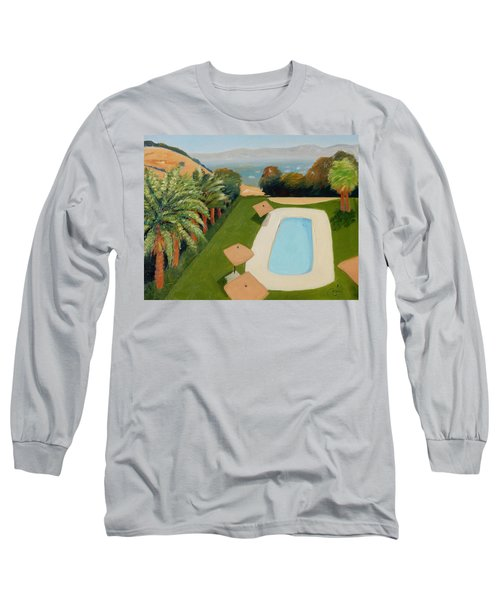 Long Sleeve T-Shirt featuring the painting So Very California by Gary Coleman