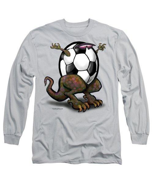 Soccer Saurus Rex Long Sleeve T-Shirt
