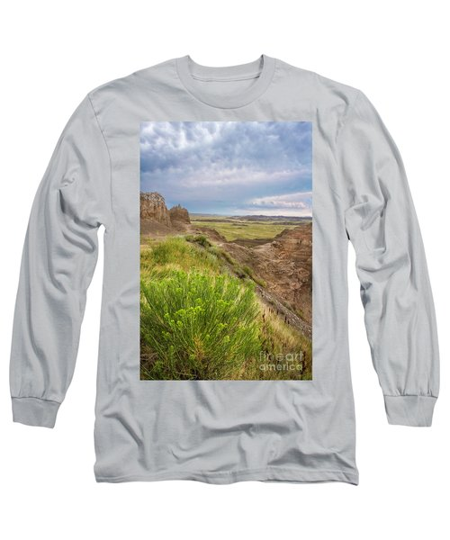 Softly Rumbling Sky Long Sleeve T-Shirt