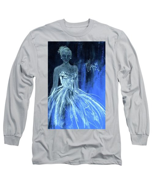 Something Blue Long Sleeve T-Shirt by P J Lewis