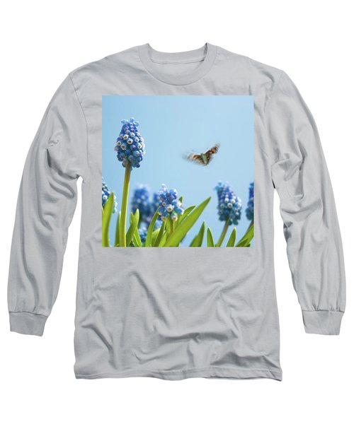 Something In The Air: Peacock Long Sleeve T-Shirt