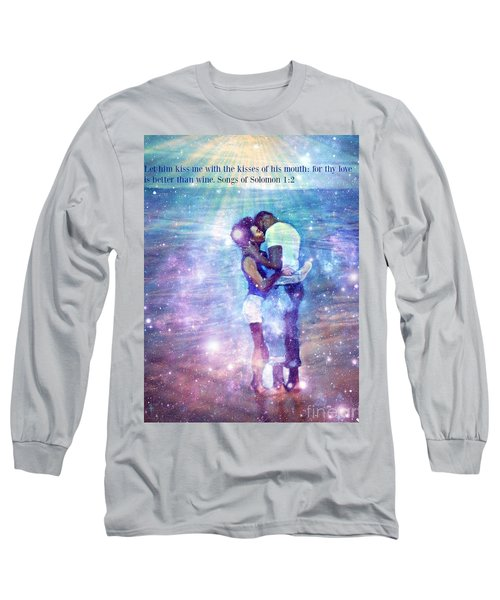 Songs Of Solomon Long Sleeve T-Shirt by Vannetta Ferguson