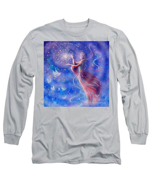 Sophia Finds Wisdom Long Sleeve T-Shirt by Dee Davis